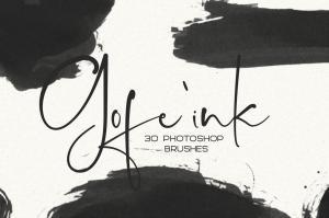 30-gofe-ink-photoshop-brushes-1