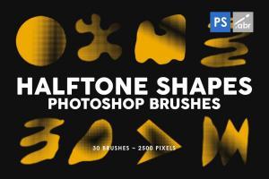 30-halftone-shapes-photoshop-stamp-brushes-1
