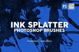 30-ink-splatter-photoshop-brushes-vol-2-3