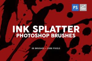 30-ink-splatter-photoshop-stamp-brushes-vol-1-3