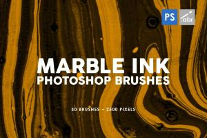 30-marble-ink-photoshop-brushes-vol-2-2