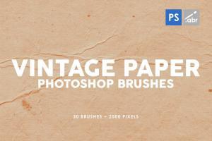 30-vintage-paper-photoshop-stamp-brushes-1