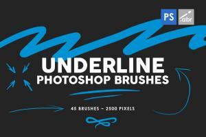 45-underline-photoshop-stamp-brushes-vol-1-3