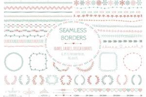 doodle-seamless-borders-elements-4