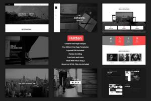 hattan-creative-onepage-multipurpose-template