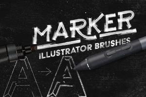 marker-illustrator-brushes