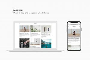 maxima-minimal-blog-and-magazine-ghost-theme