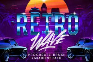 retro-wave-brush-for-procreate-3