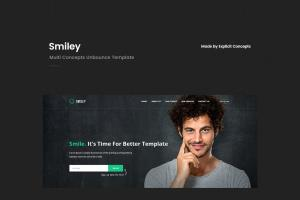 smiley-multi-concepts-unbounce-template