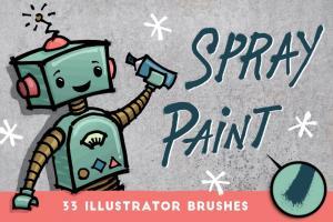 spray-paint-33-illustrator-brushes-2