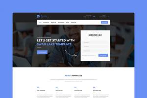swan-lake-cms-unbounce-template