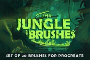 the-jungle-procreate-brushes-1