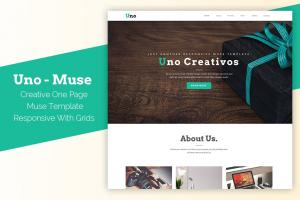 uno-responsive-one-page-muse-template