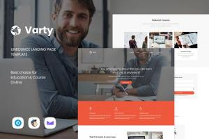 varty-education-course-unbounce-landing-page
