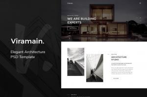 viramain-elegant-architecture-psd-template-2