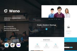 weno-startup-unbounce-landing-page-template